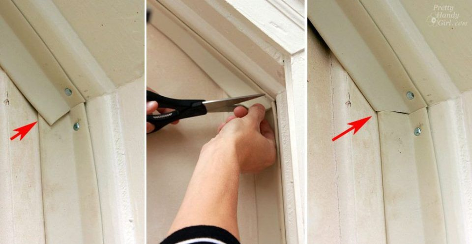 Installing Weatherstripping On A Garage Door Really Warms Up The Workshop In 2020 Garage Door Weather Seal Garage Doors Garage Door Weather Stripping