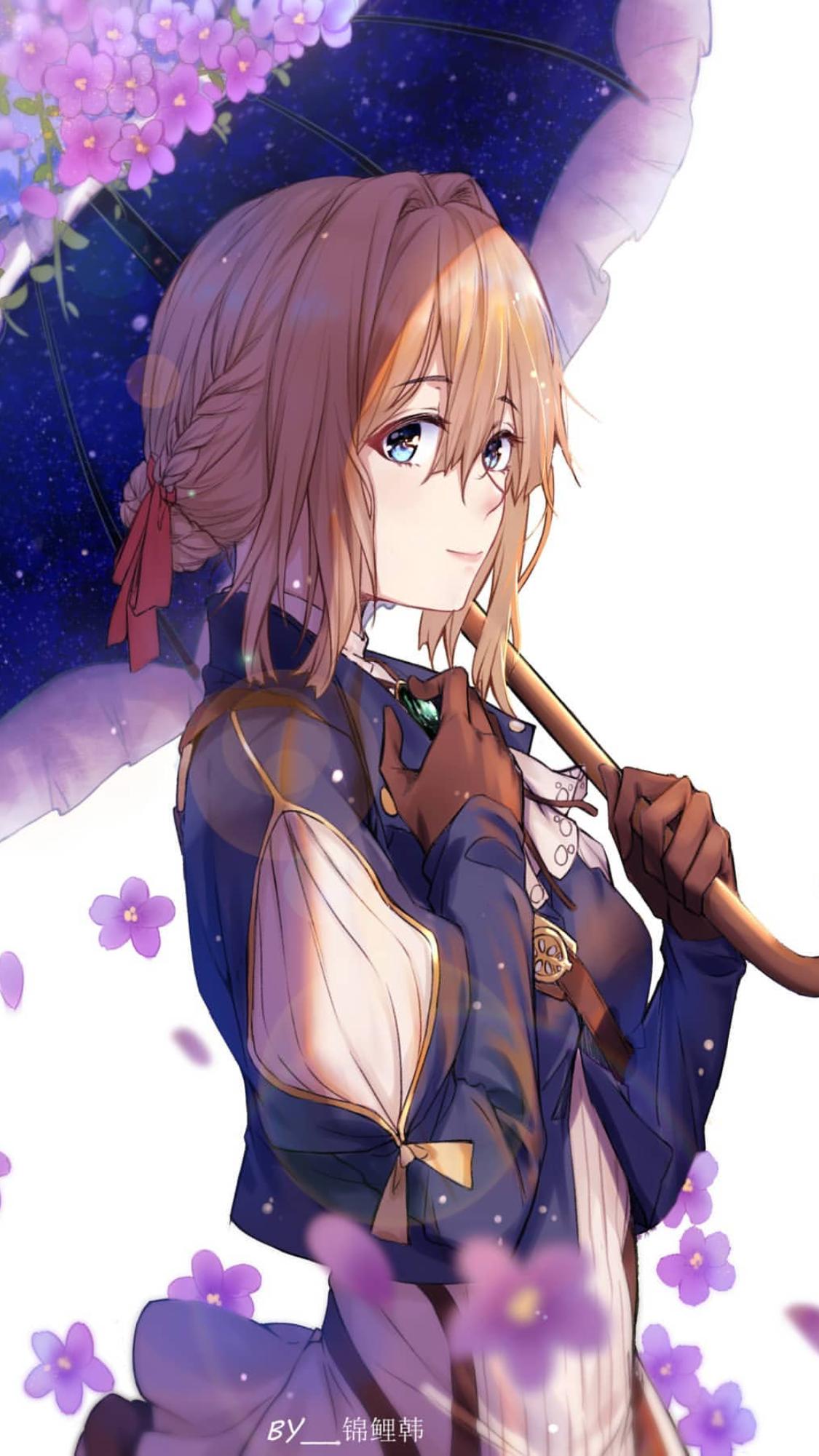 Violet Evergarden Anime Nghệ Thuật Anime Nghệ Thuật