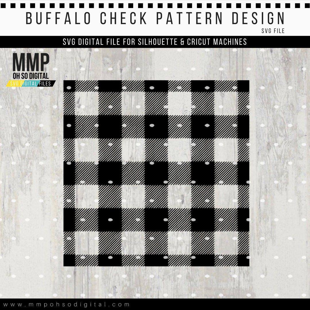 Buffalo Check Design Svg Buffalo Plaid Svg Fall Decor Etsy Handmade Sellers Cheque Design Checker Print