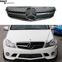 2007 2013 Mercedes W204 Front Grill C63 Look Grille For C Class