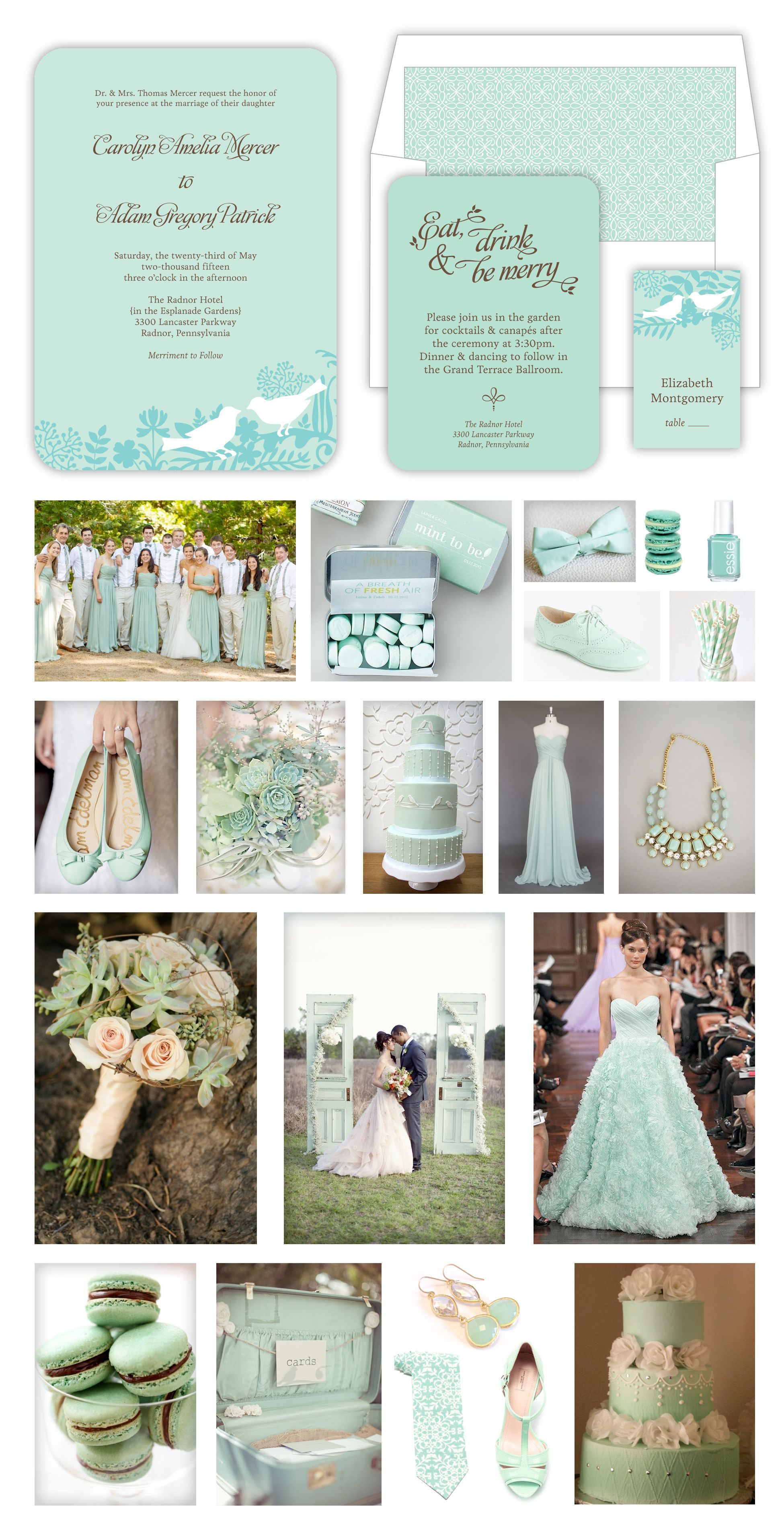 afternoon tewedding theme ideas%0A Mint  u     Gold Beach Wedding