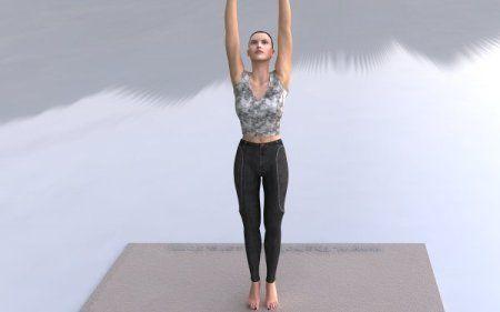 tadasana  tada asana mountain yoga posture  yoga