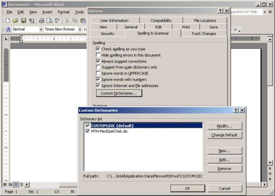 Free medical spell checker software (custom dictionary) for Microsoft Word made by a medical transcriptionist. US English. Useful for medical transcription