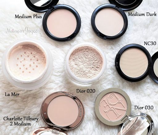 6653700a34 Swatches + Comparison: Luxury and Mid Range Setting Powders (Dior ...