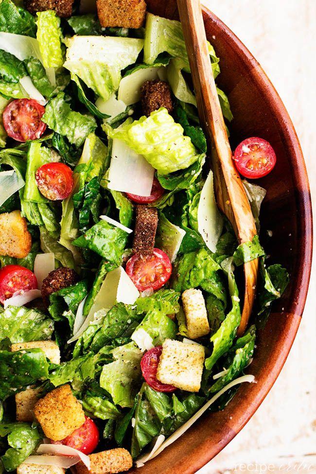 Caesar Salad Asiago Recipe Sweet Tomatoes