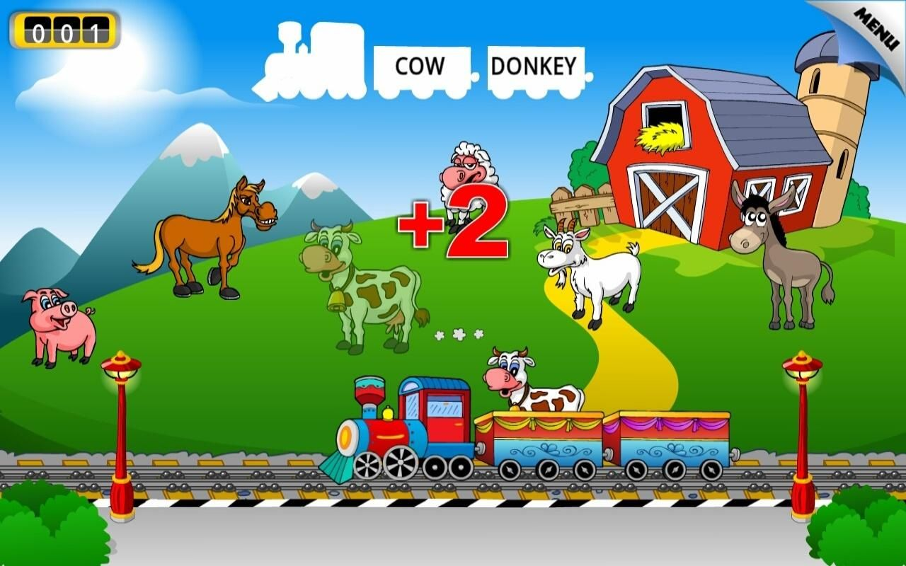 Kids Animal Train - First Word - Android Apps on Google Play ...