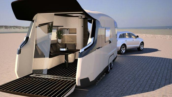 die besten 25 ideen zu luxus wohnwagen auf pinterest. Black Bedroom Furniture Sets. Home Design Ideas