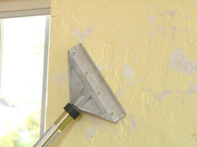 How to remove texture from a wall. Now to see if it will remove the ...