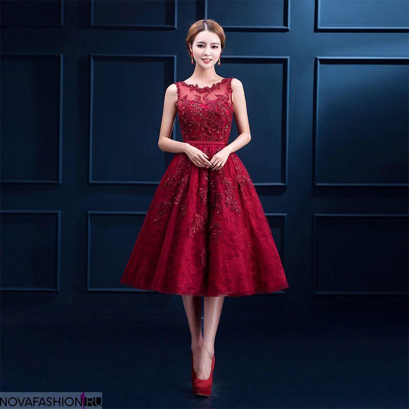 9f26ef959dc платья на выпускной 9 класс самые красивые  платье красное миди ажурное