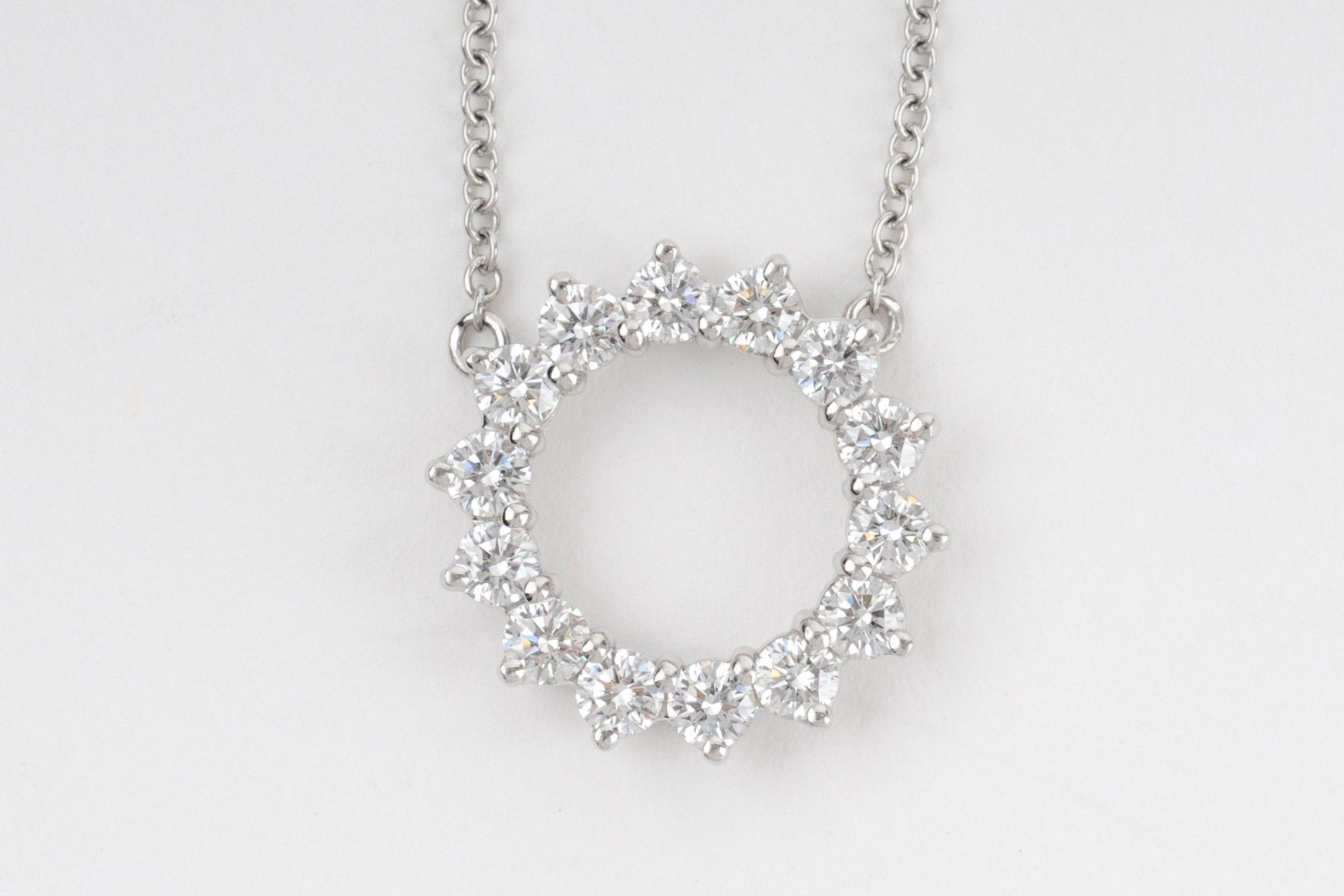 tiffany loading diamond platinum teakle and white necklace by mesh large bib simon flexible