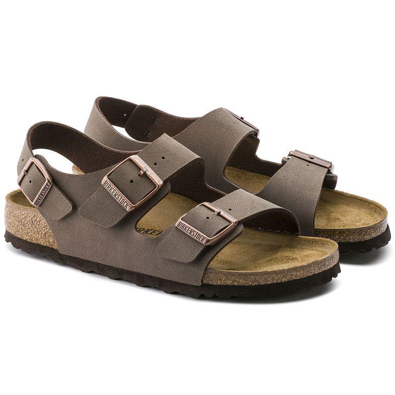 birkenstock milano unisex leather sandal