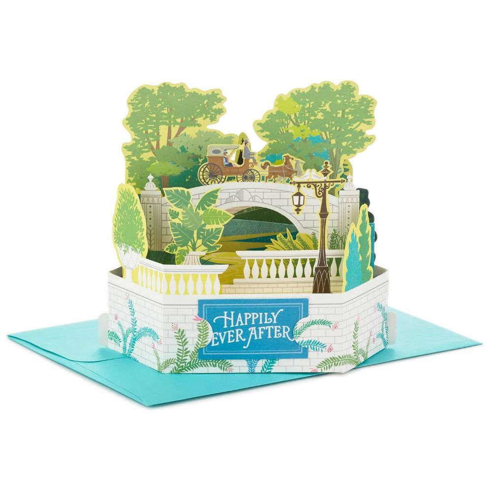 Hallmark Romantic Carriage Ride Pop Up Wedding Card At The Paper Store