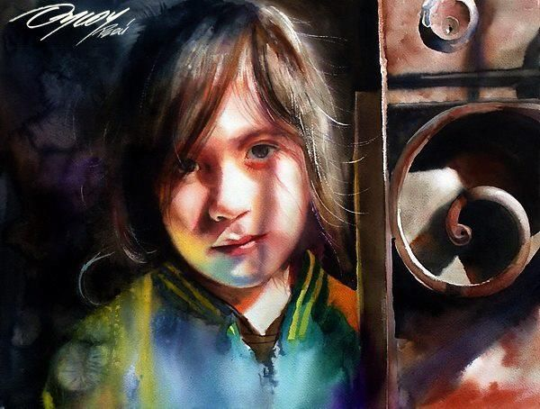 Best Watercolor Portraits By Famous Artists Artist