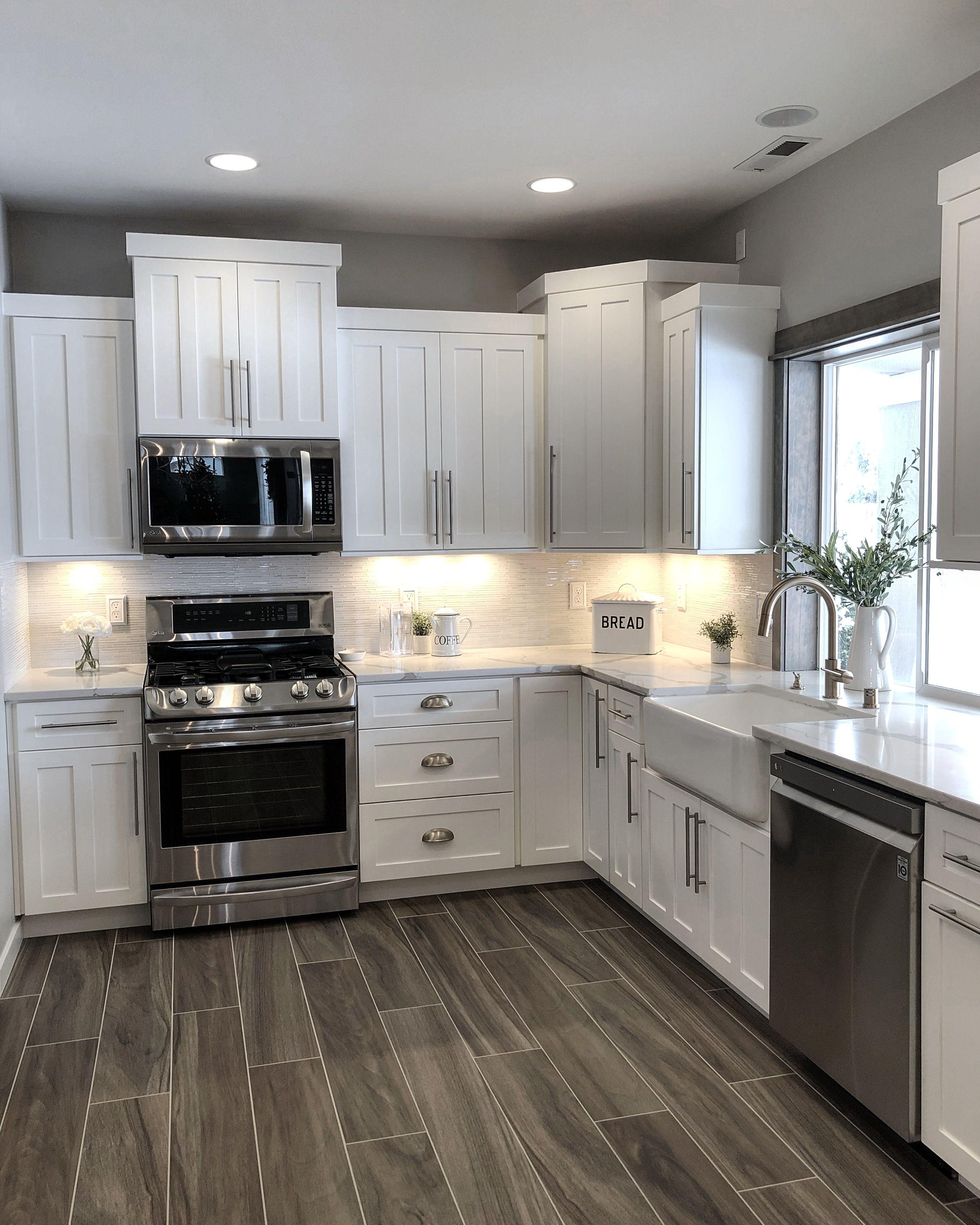 Colores de moda para pintar la cocina decora online - Pintar encimera cocina ...