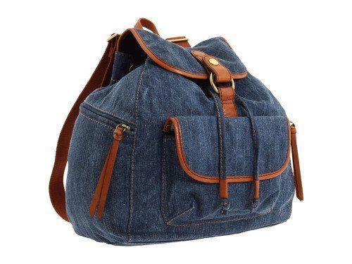 bags made of denim