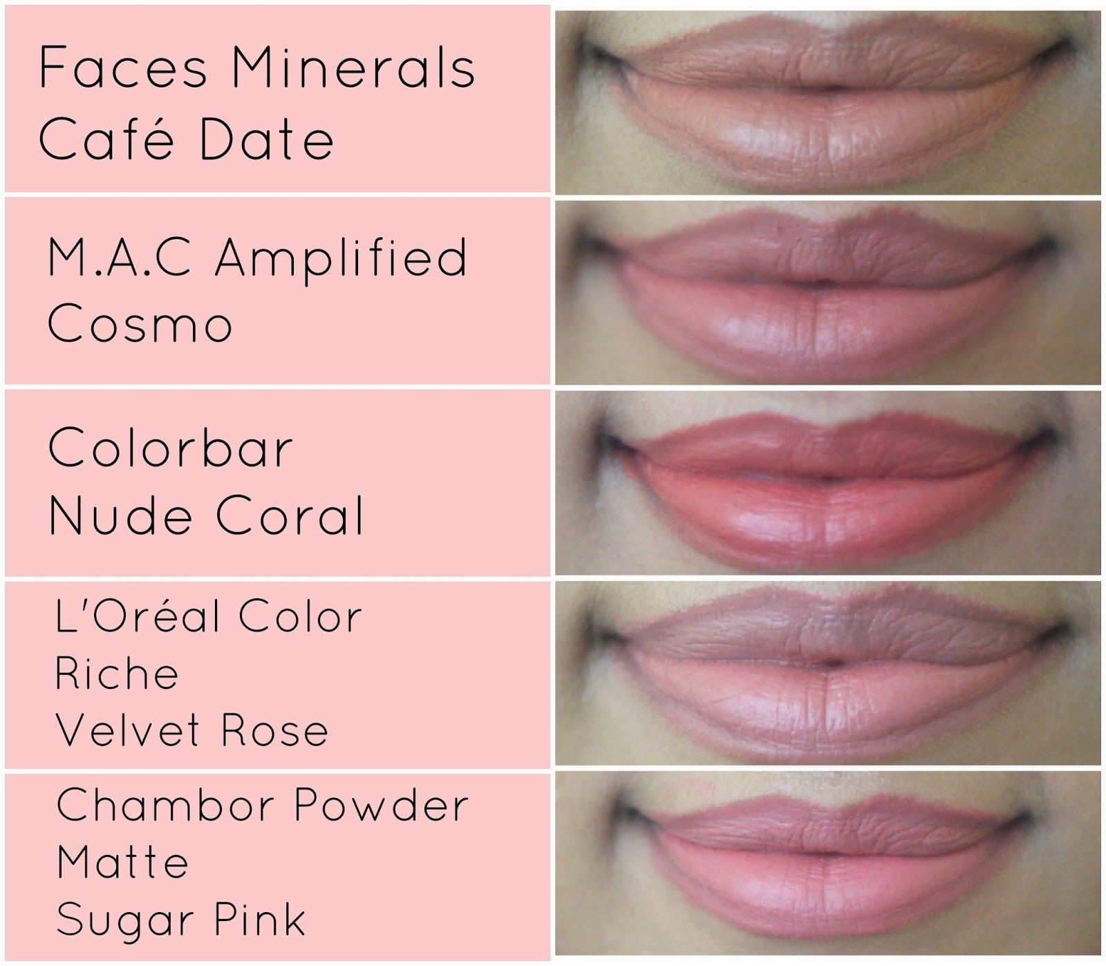 Top 5 Nude  Pale Pink Lipsticks For Indian Skin Tone -1037