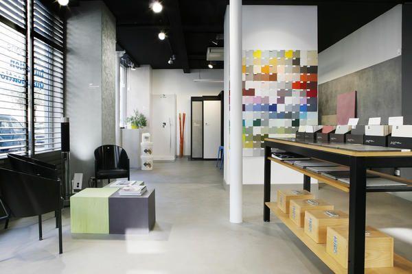 Beton Cire Showroom : Showroom paris béton ciré showroom