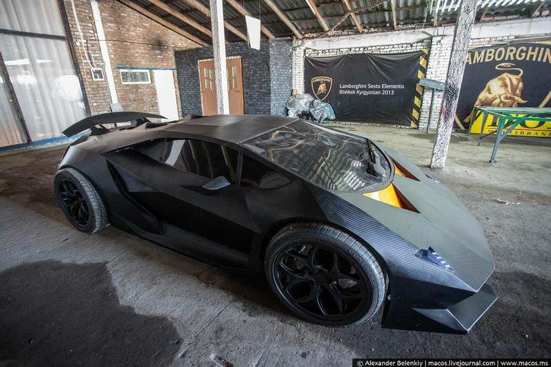 Overkill Lamborghini Sesto Elemento Replica From Kyrgyzstan Lamborghini Bmw X5 Autos