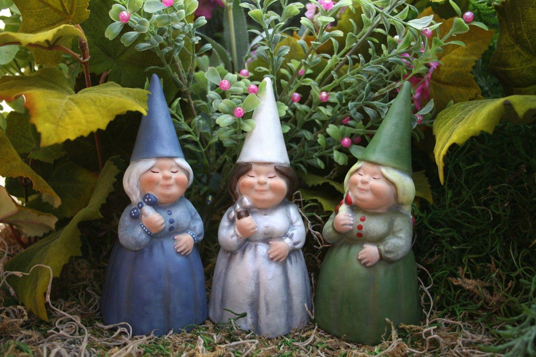 Female Garden Gnomes Garden Gnomes Custom Girl Lady Female