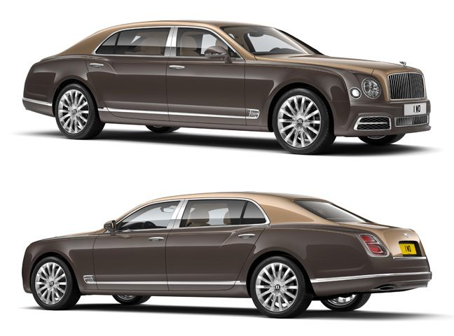 Bentley Mulsanne First Edition.