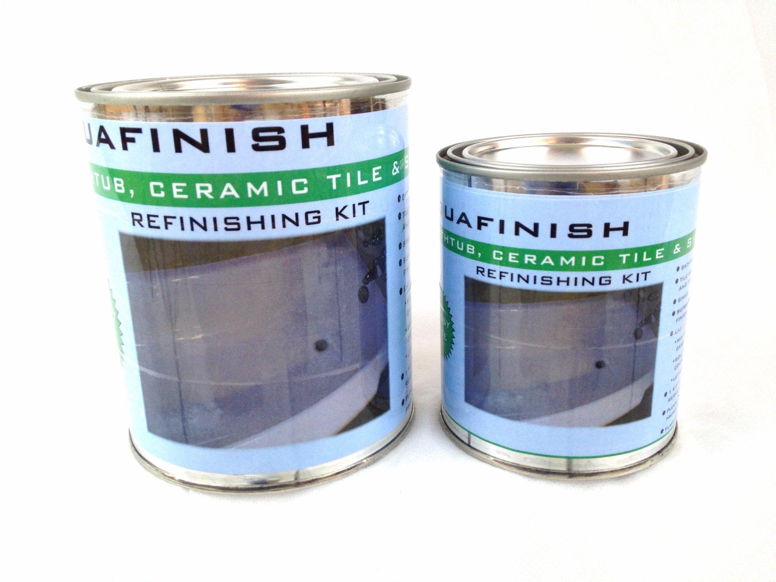 Aquafinish Bathtub Refinishing Kit Coating Only Bathtub