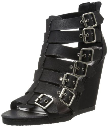 59cdd00664a0 Leather · Madden Girl Women s Duff Wedge Sandal