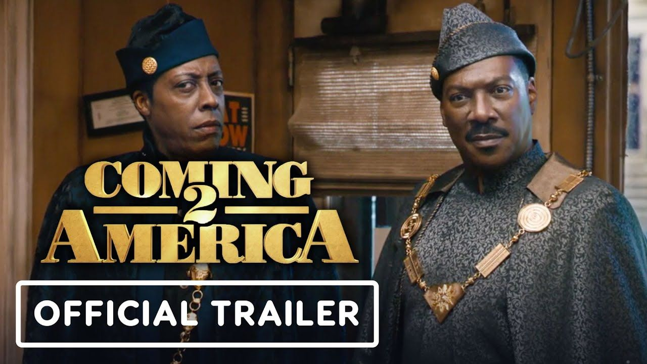 Coming 2 America Official Trailer 2021 Eddie Murphy Arsenio Hall Wesley Snipes Youtube Official Trailer Movie Trailers Amazon Prime Video