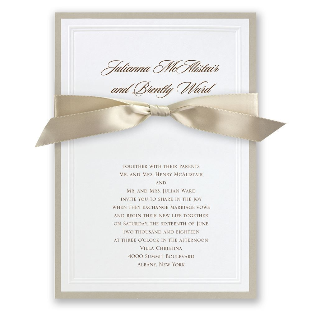 Sophisticated border invitation wedding wedding and wedding suite picture wedding invitations use some attractive accessories and make your own stopboris Gallery