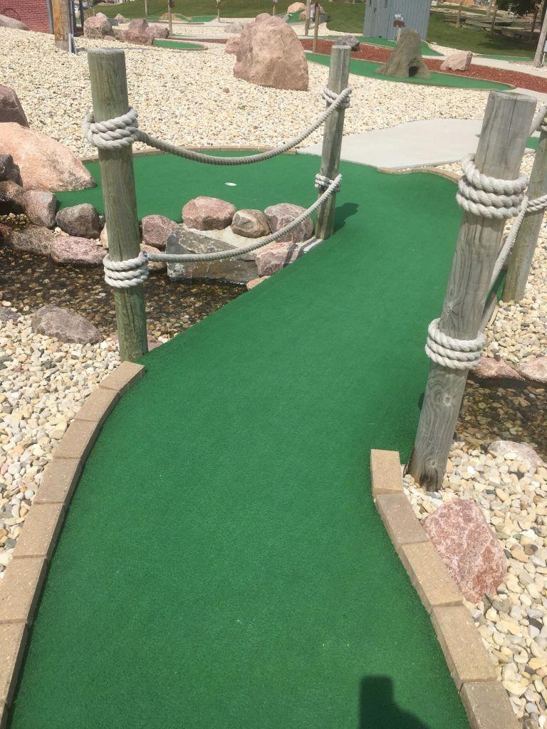 America's Action Territory Course 1 Hole 14 Mini Golf