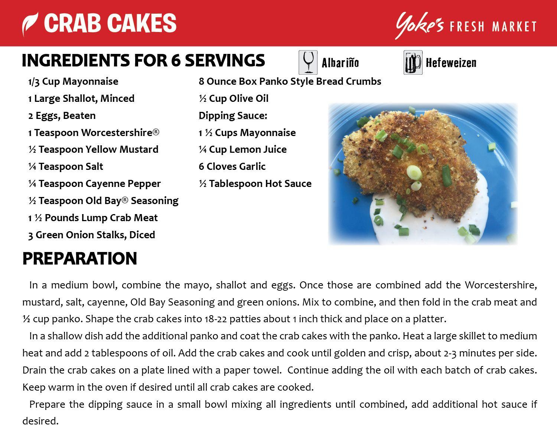 Crab cakes crab cakes crab fresh market