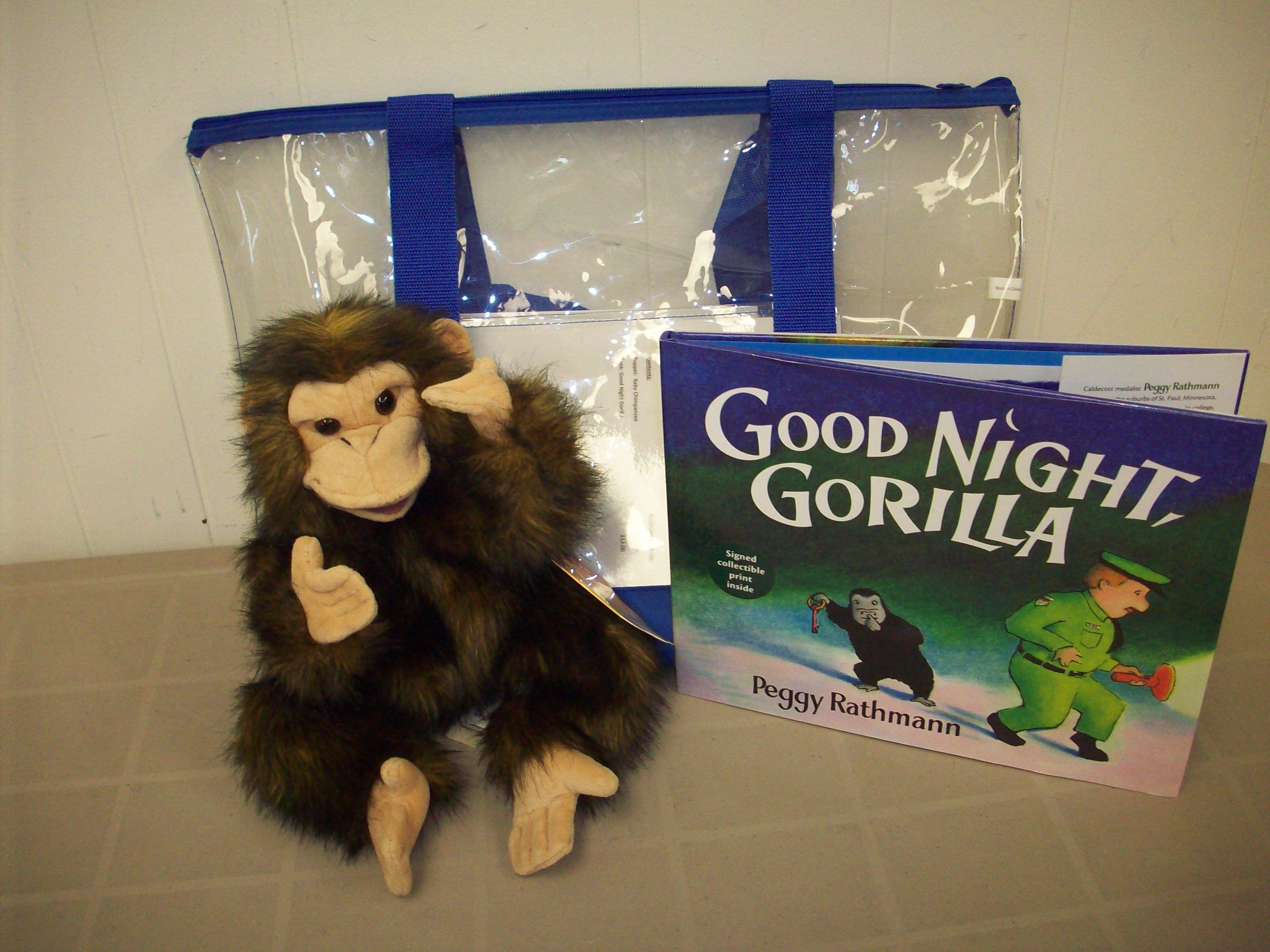 Gorilla Book Good Night Gorilla