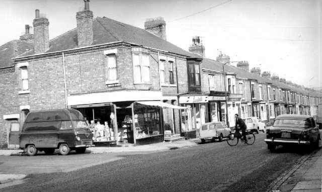 Yorkshire Terrace: Salisbury Terrace 1964