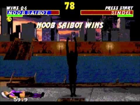 Ultimate Mortal Kombat 3 Playthrough Sega Genesis - Noob