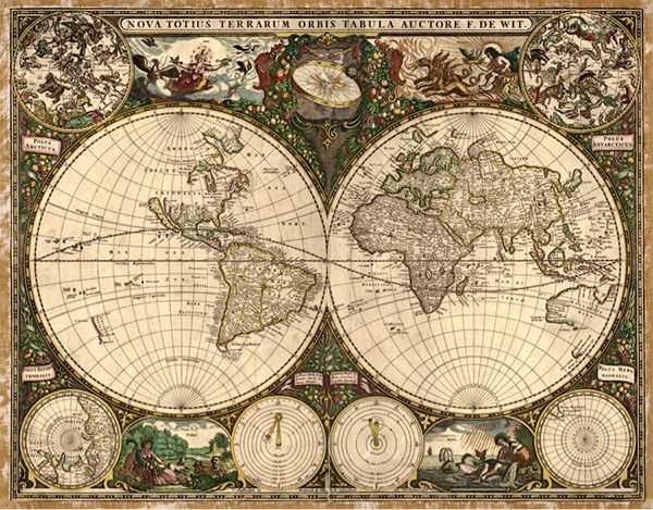 New world meets old nova totius terrarum orbis tabula geographic search results for old world nautical map wallpaper adorable wallpapers gumiabroncs Image collections