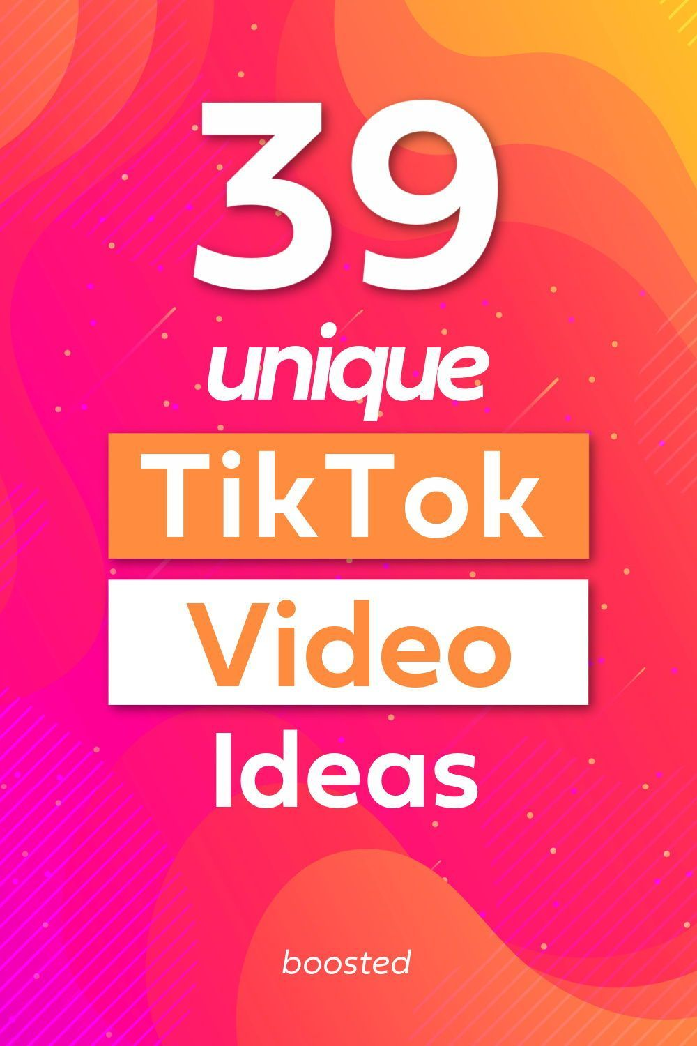 41 Tiktok Video Ideas For Small Businesses Boosted Social Media Marketing Business Marketing Strategy Social Media Business Marketing Plan