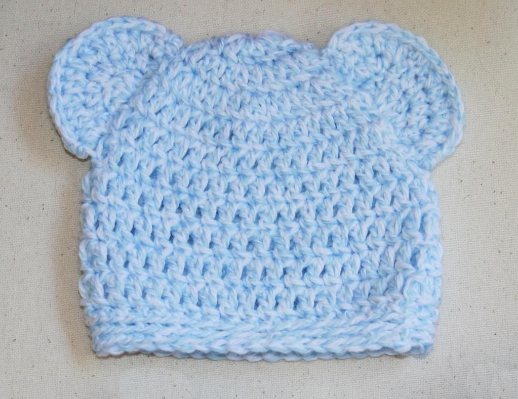 Free Quick Crochet Hat Patterns Newborn Baby Bear Hat By