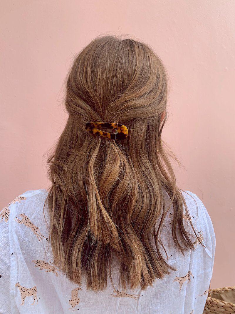 La Girl Hair Barrettes Long Hair Styles Hair Styles Thick Hair Styles