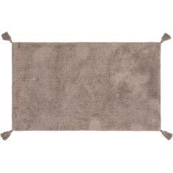Photo of benuta bath mat Flora gray 50×80 cm – bath mat for bathroom benuta