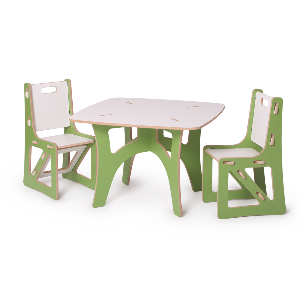 sprout modern kids table and chair set  modern kids furniture  - modern kids table and chairs