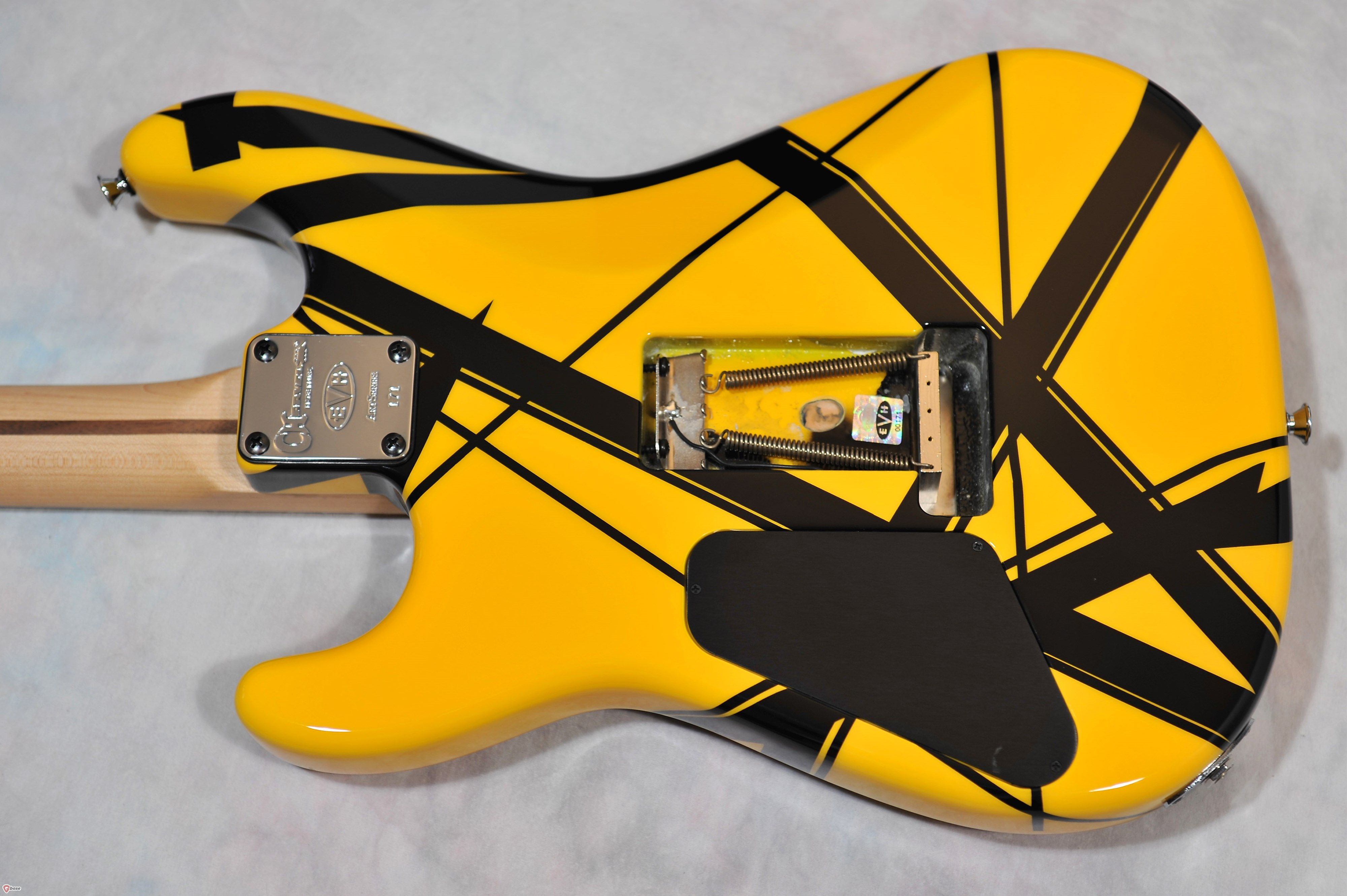 $17,795 electric guitar - BACK side of 2007 Charvel Van Halen EVH ...