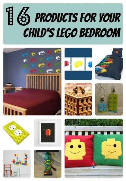 Room 2 Build Bedroom Kids Lego: Lego Bedroom, Lego Room