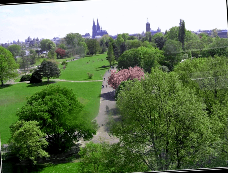 Que ver en Rheinpark de Colonia