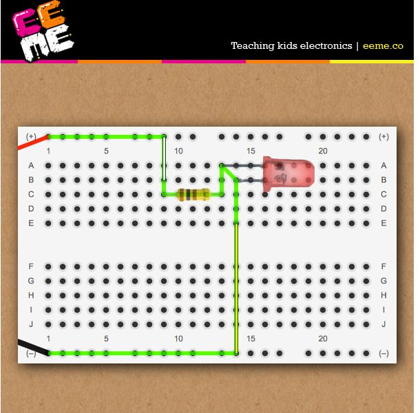Come build and learn about how an LED light circuit works with our ...