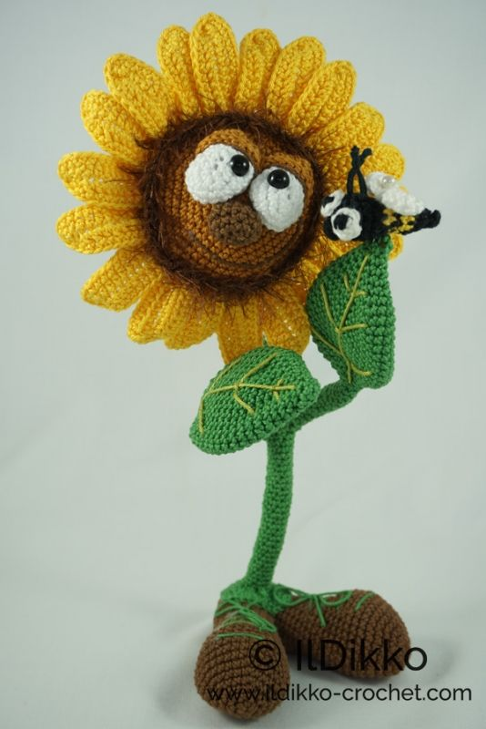 Sonny the Sunflower amigurumi pattern by IlDikko | Pinterest ...