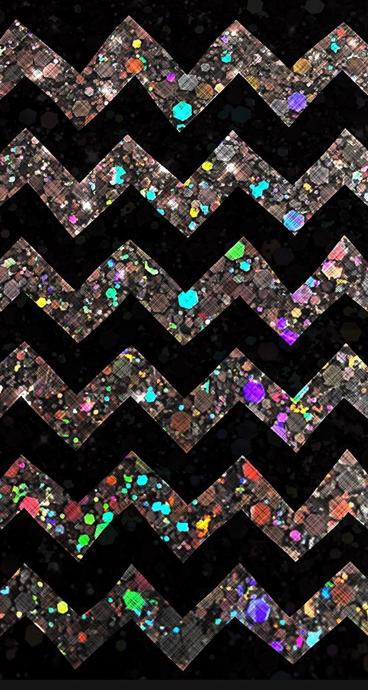 Glitter Chevron Iphone Wallpaper Chevron Iphone Wallpaper Black Glitter Wallpapers Iphone Wallpaper Glitter