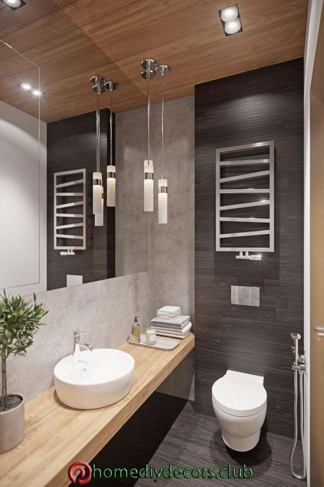 Ideen Zur Dekoration Ihrer Toilette Badezimmer Ideen Zur Dekoration Ihrer T Kleines Bad Renovierungen Badezimmer Innenausstattung Modernes Badezimmerdesign