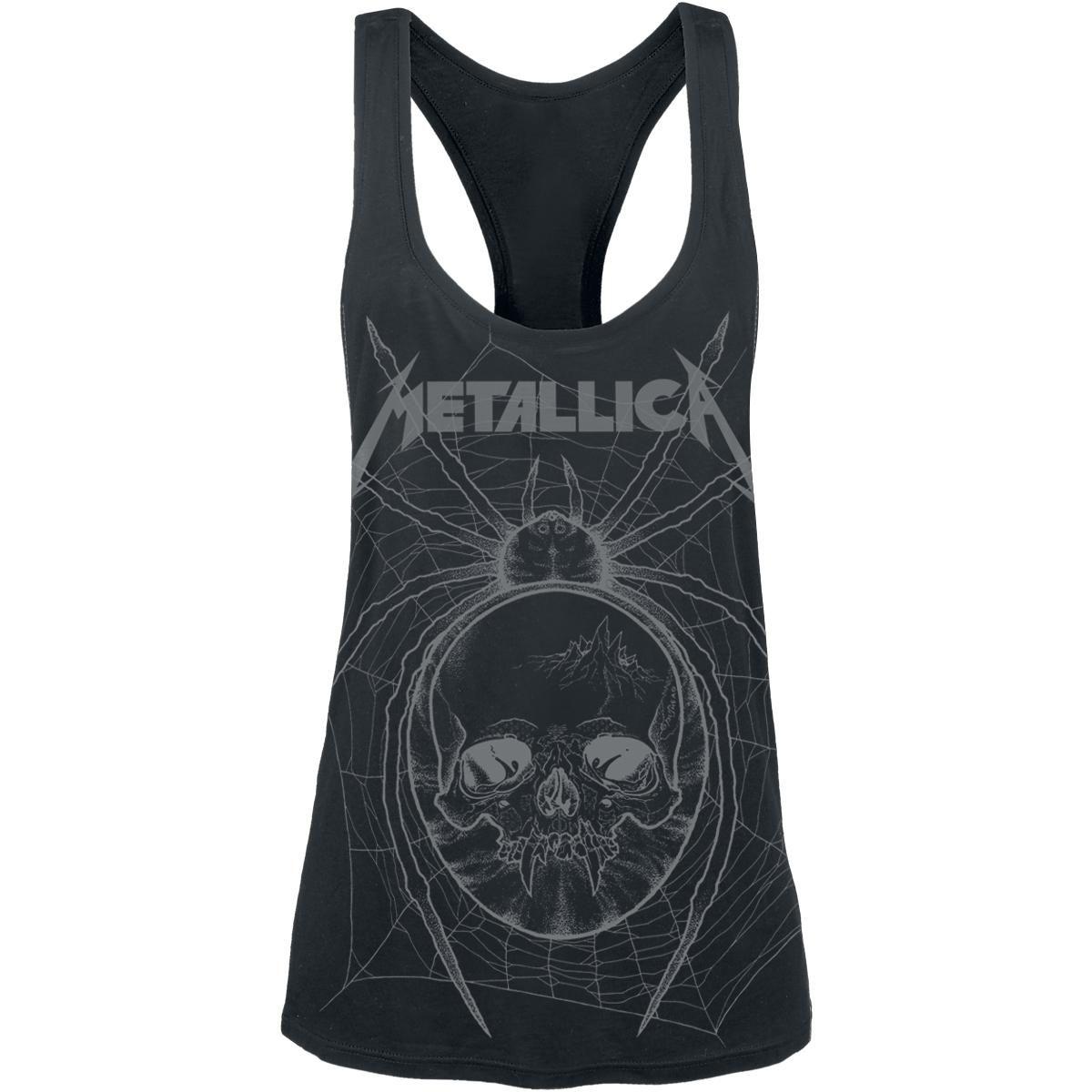 Web Skull Mono von Metallica