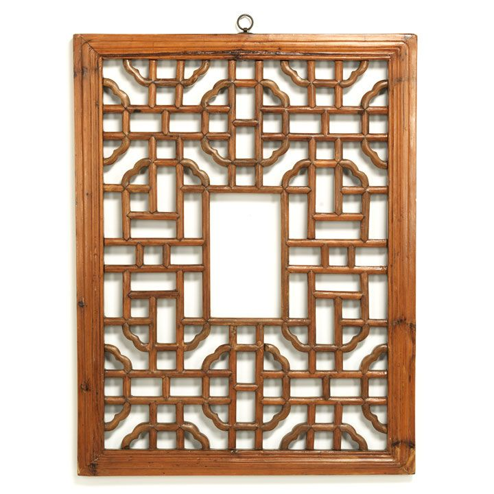 This lovely little wooden lattice panel, with its beautiful geometric  pattern, would one have - This Lovely Little Wooden Lattice Panel, With Its Beautiful