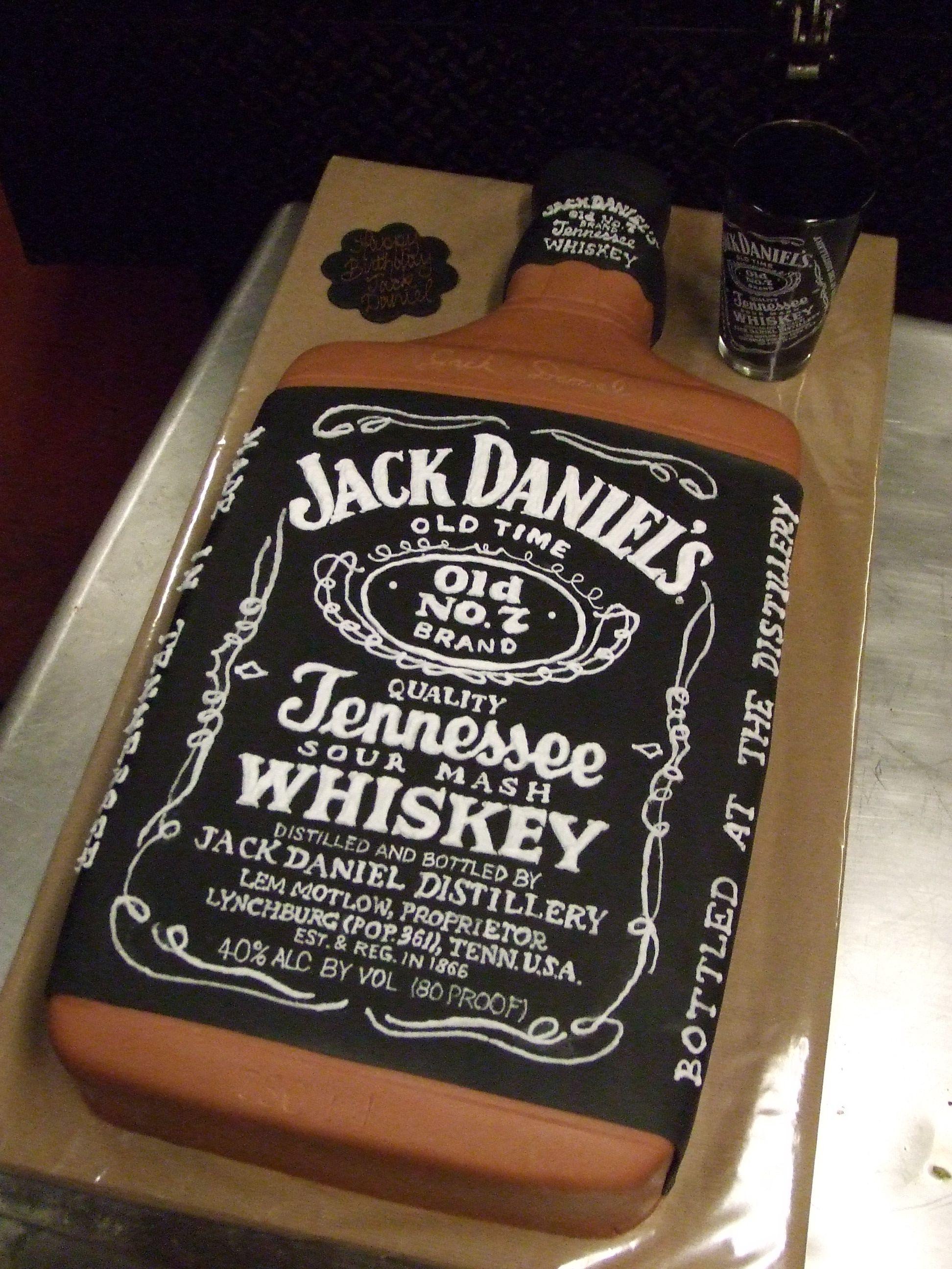 Jack Daniels Birthday Cake EK Cakes Gallery Boys only