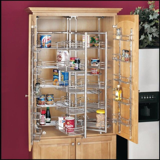 Small Kitchen Pantry Shelving Ideas